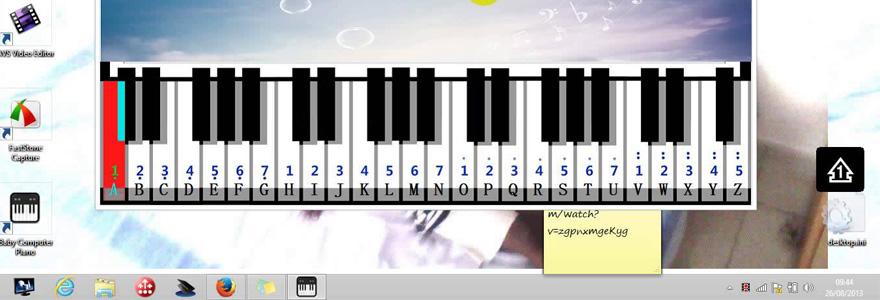 Apprendre avec clavier piano pour pc