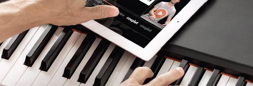 Apprendre piano en ligne
